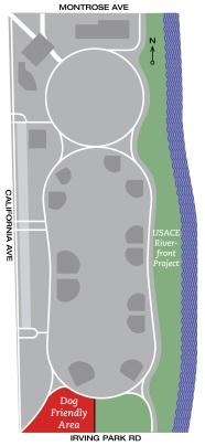Horner Park Map
